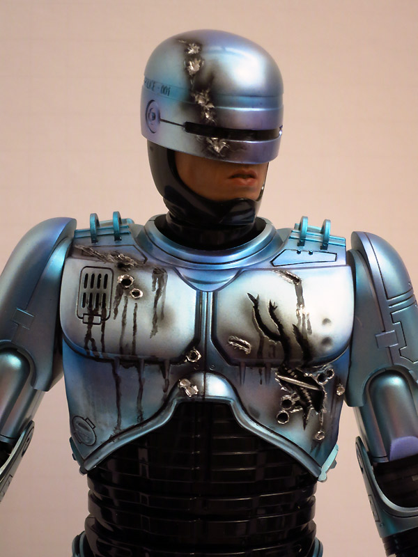 Paint Job Cost >> Hot Toys Robocop Refinish | RPF Costume and Prop Maker Community